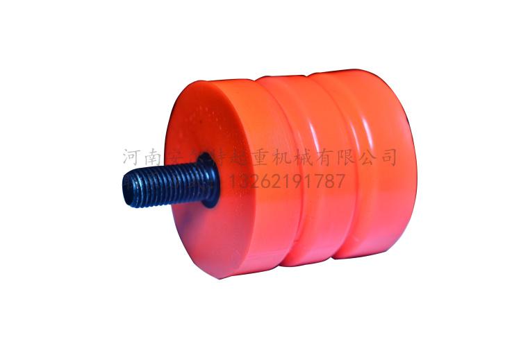 JHQ-A-1型聚氨酯缓冲器价格 行车防撞器碰块 天车安全防撞垫