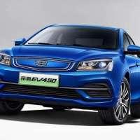 新能源汽车帝豪EV450