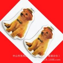 高周波电压PVC行李牌 海绵夹层箱包行李牌 日本品质卡通塑料挂件批发