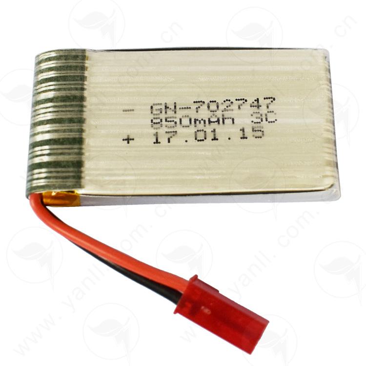 米宝兔早教故事机电池 GN 702747 3.7V 850mAh 3C,米宝兔电池850mAh