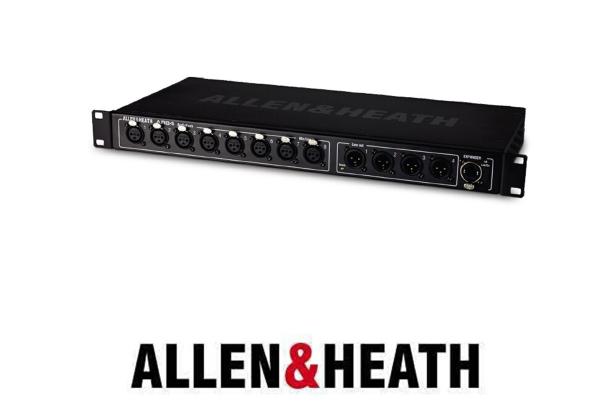接口箱 AH  接口箱 AH AR0804拥有8路输入、4路输出的音频机架,带有dsNAKE连接。1U机架安装。