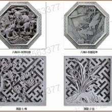 哈尔滨青砖门套私家别墅福字砖雕图片