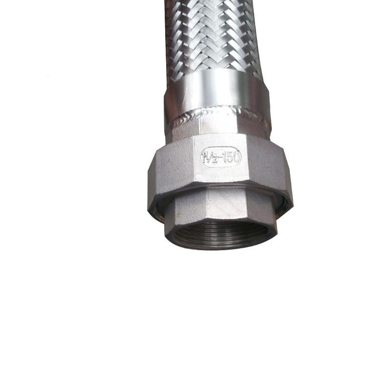 304不锈钢蒸汽软管 不锈钢波纹管 钢丝软管 厂家直销