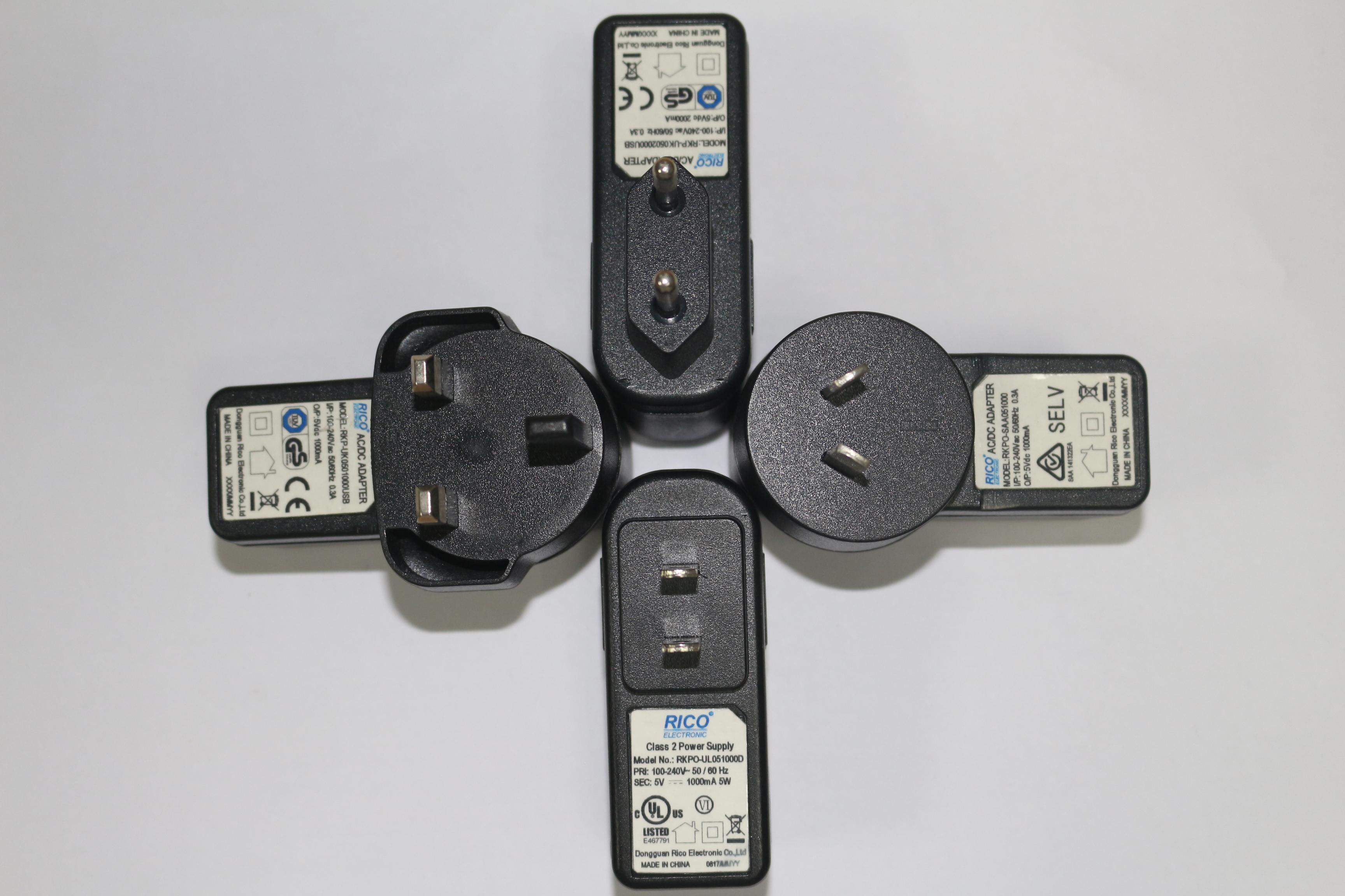 5V1A USB电源适配器 USB电源充电器