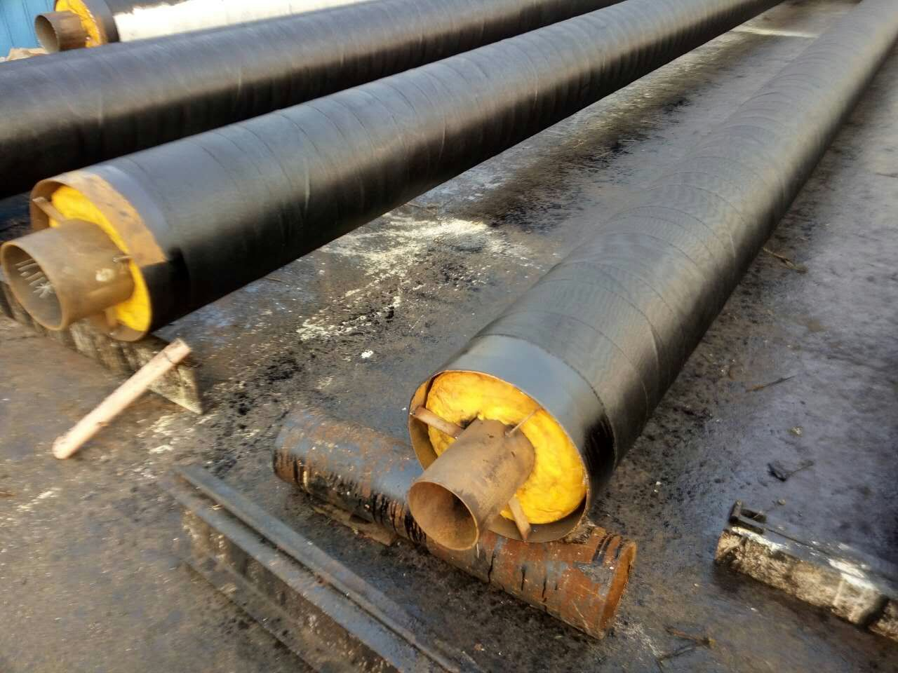 蒸汽介质输送钢套钢保温钢管专业厂家