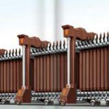 我厂自产自销 电动伸缩门,种类齐全、外形美观,经济适用。