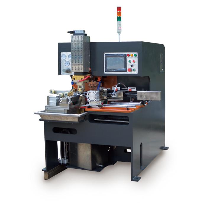 莱芜豪精铜编织线成形点焊机销售