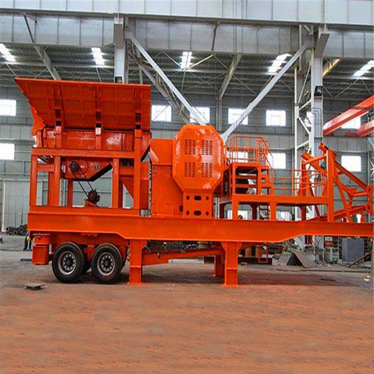 移动破碎机 厂家供应小型移动破碎机 矿山设备 鄂破 反击破 移动破碎站设备