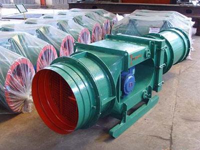供应KCS-410D矿用防爆轴流除尘风机 湿式振弦除尘风机