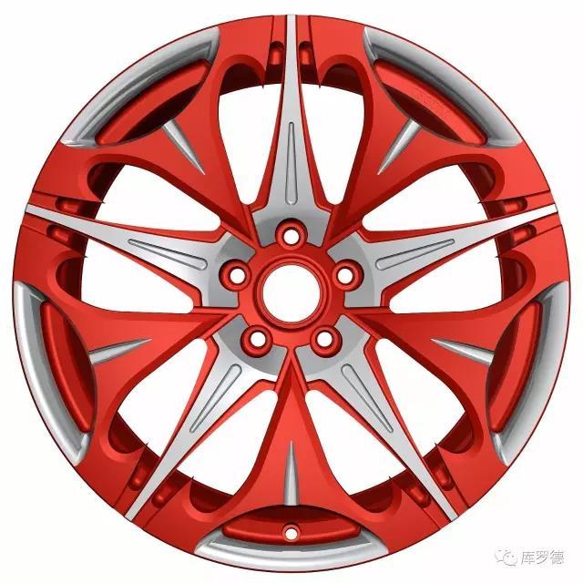 个性定制铝合金锻造轮毂 宜州个性定制铝合金锻造轮毂