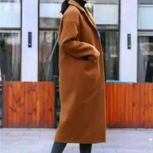 手工双面呢大衣批发。韩版羊绒羊毛呢大衣双面呢大衣外套批发