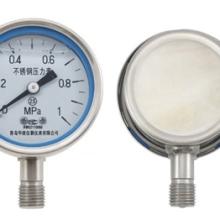 华宸精仪轴向精密压力表0.4级YB150ZT系列面板式精密压力表批发