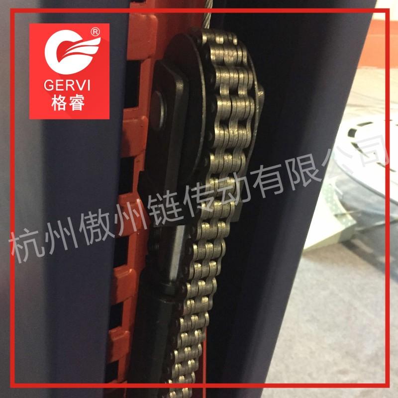 板式链 LH0823 传动链板式链条型号齐全叉车牵引机提升机