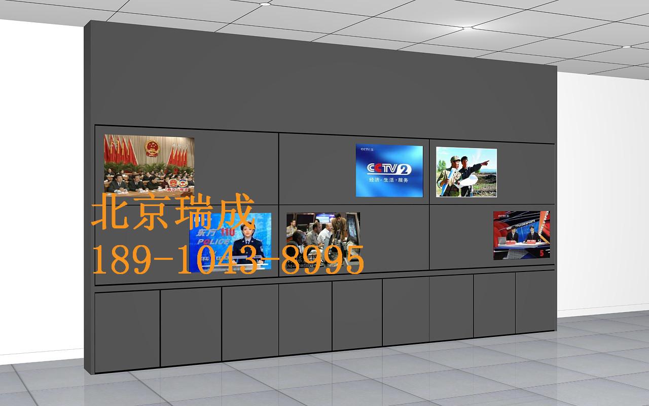 安防监控电视墙机柜监视器大屏机柜销售