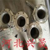 直销锈钢金属法兰波纹钢丝编织软管防爆耐高温高压蒸汽连接不锈钢法兰软管
