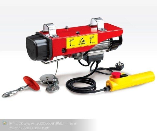 热销款 家用微型电动葫芦小吊机 220V家用葫芦 微型电动葫芦