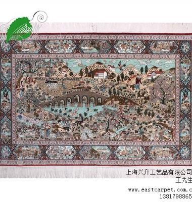 手工真丝地毯图片/手工真丝地毯样板图 (1)