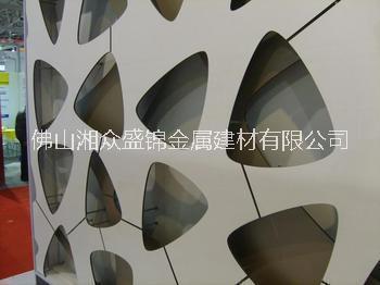 特殊造型铝单板 铝天花 铝蜂窝板 瓦楞板 冲孔铝单板