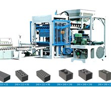 大型液压全自动粉煤灰免烧砖机设备厂家图片