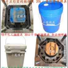 供应塑胶PE油漆桶模具图片