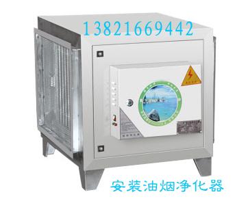 天津专业安装油烟净化器  检测100%合格