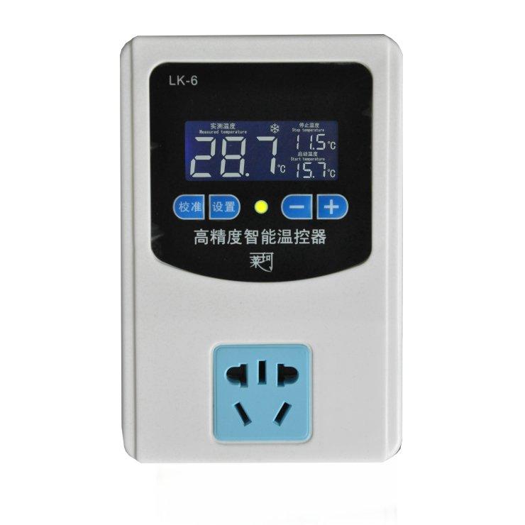 LK-6液晶温控插座 LK-6液晶温控插座温控器