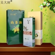 吴大厨山茶油1.6l礼盒装茶籽油食用油月子油茶油 长寿油