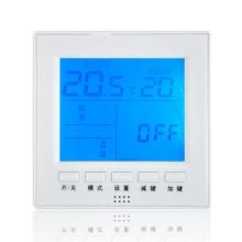 莱珂K305中央空调温控器 风机盘管温度控制器 大屏幕控温开关促销 莱珂K305中央空调温控器辽宁批发