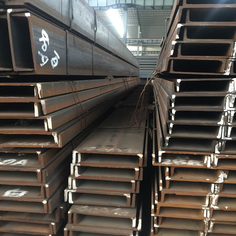 厂家直销热轧槽钢 材质Q235B 规格8# 乐从钢铁世界供应