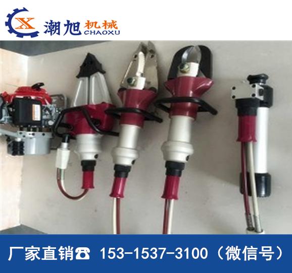 潮旭液压救援工具,超高压液压机动泵价格 液压破拆工具组厂家直销 液压破拆工具组参数