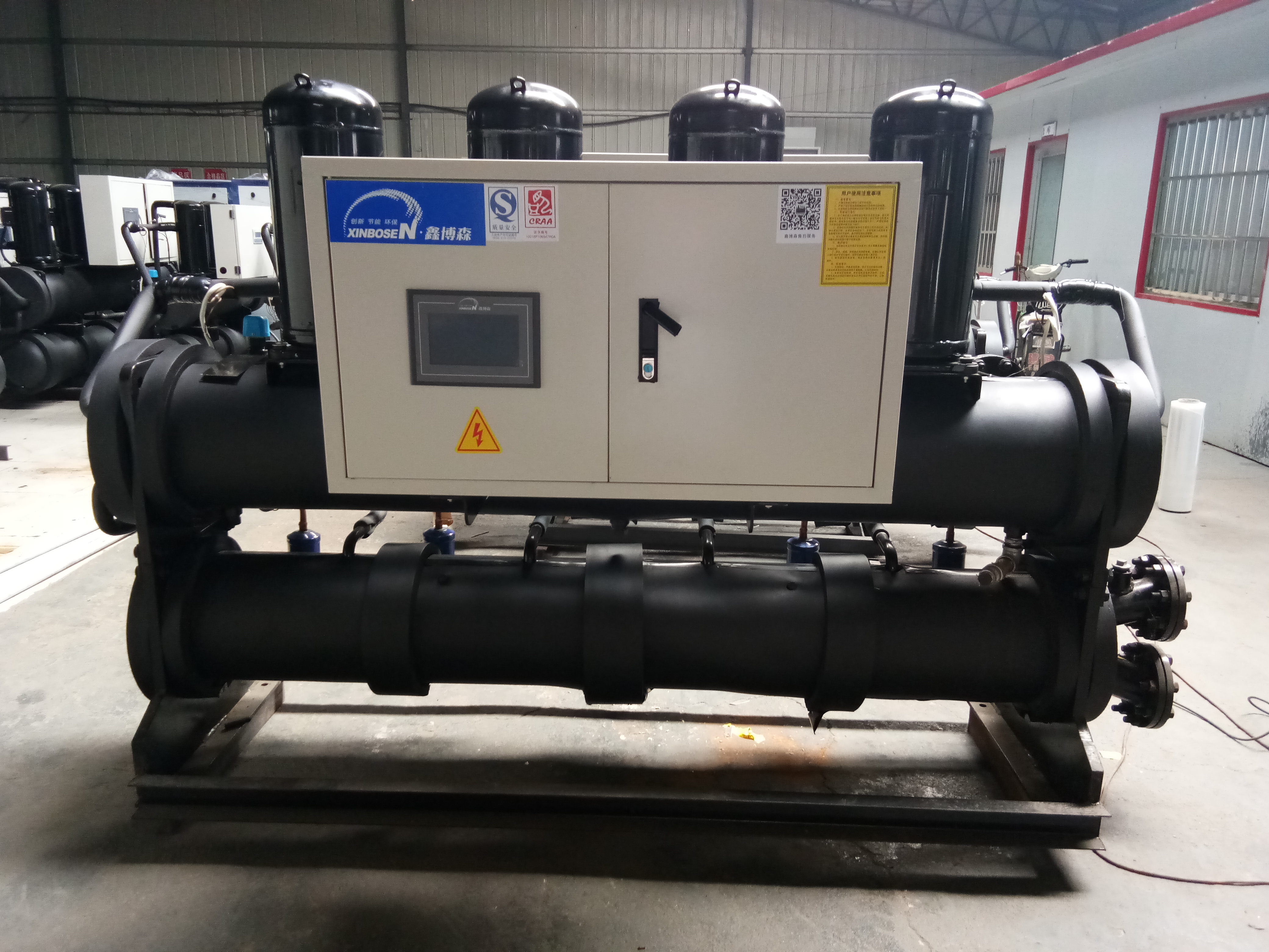 水地源热泵机组 钛管水地源热泵机组