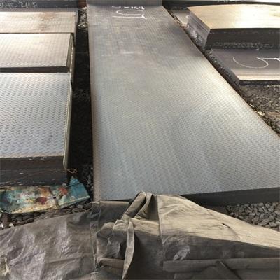 供应广东花纹板材质Q235B佛山朗聚钢铁