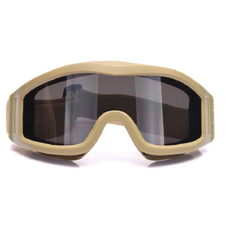 ESS军迷射击防弹眼镜战术风镜护目镜越野风镜真人CS防冲击眼镜伊斯头盔护目镜