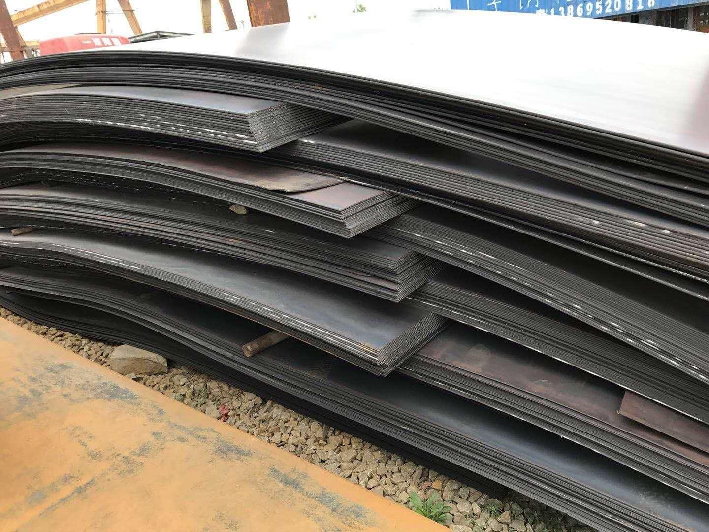 Q235NH耐候钢 山东Q345qE桥梁板中厚板  高强度铁板价格 Q235NH耐候钢现货