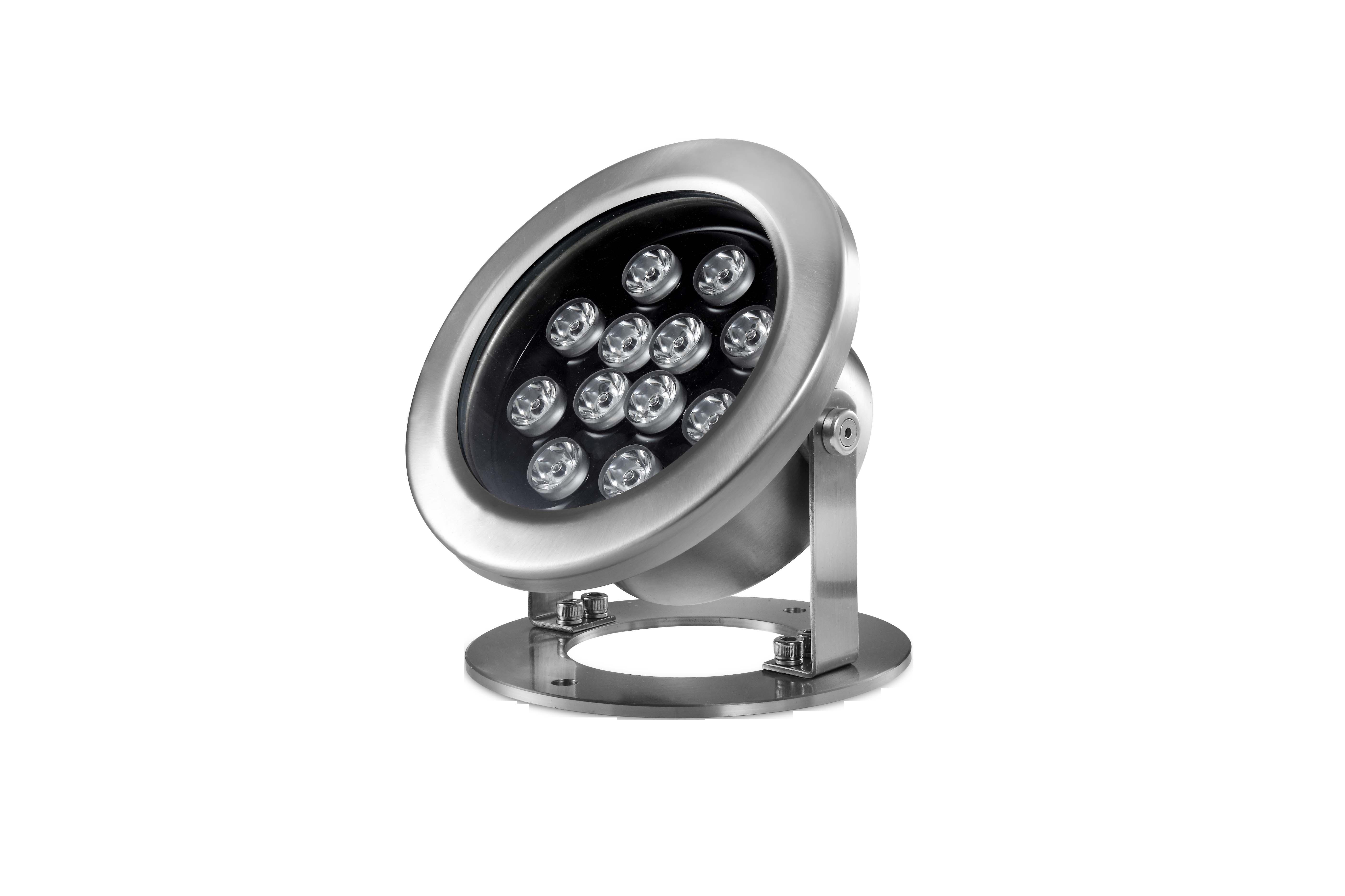 嵌入式LED水底七彩12W水底灯  12Wled水底灯厂家直销