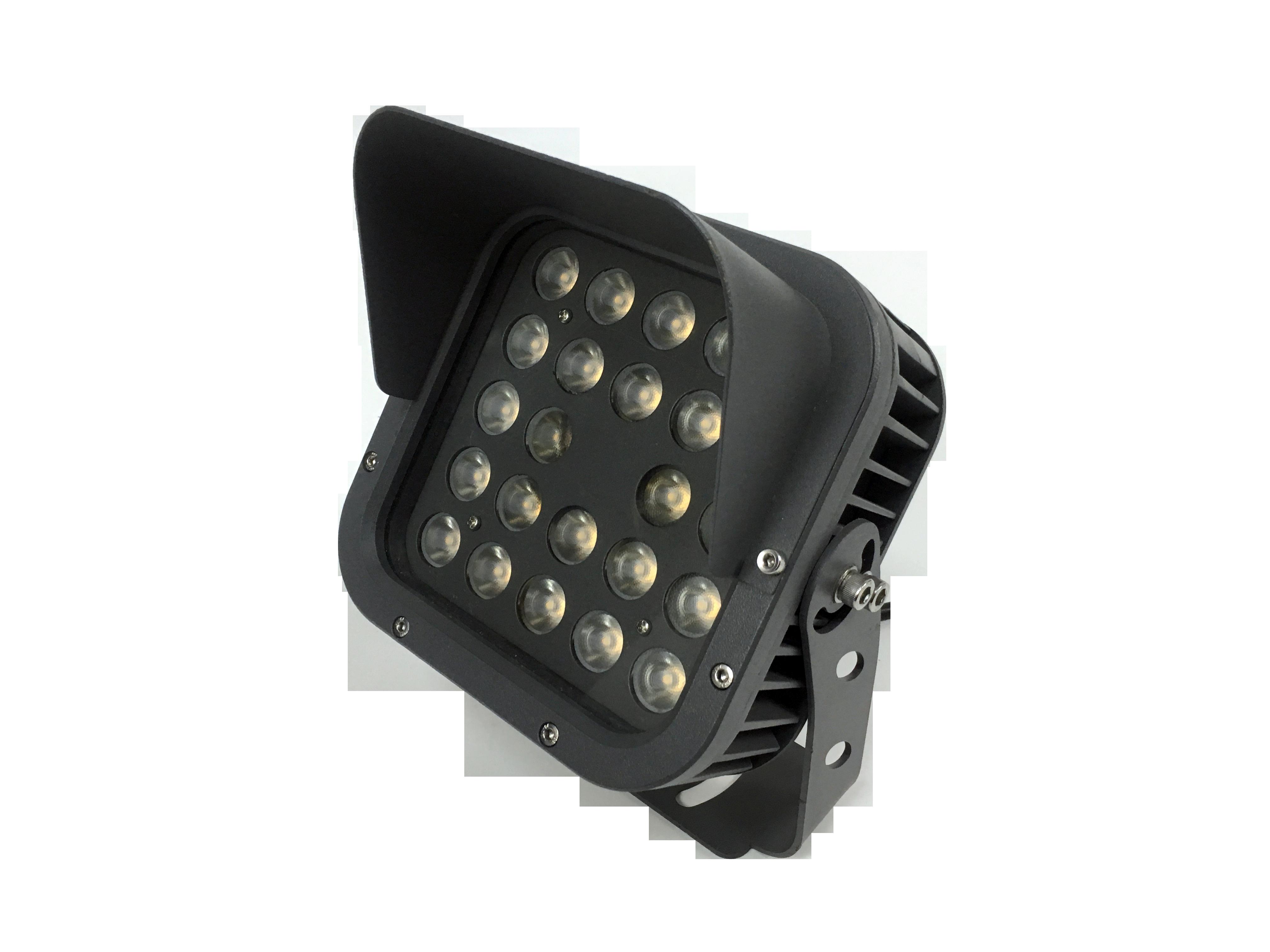 24W户外防水投光灯  24W方形投光灯 24w户外防水投射灯