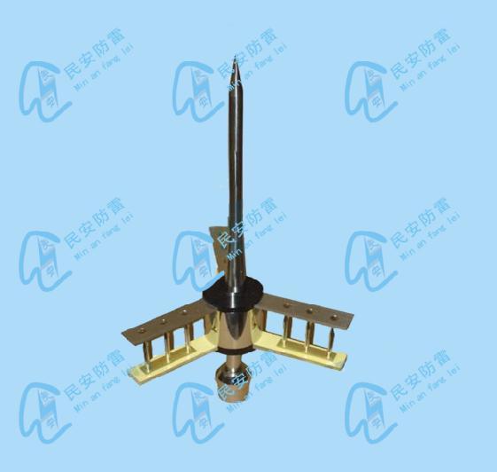 厂家供应铜包钢避雷针型号MA-TBG 西班牙提前放电避雷针 厂家直销西班牙提前放电避雷针 广西西班牙提前放电避雷针