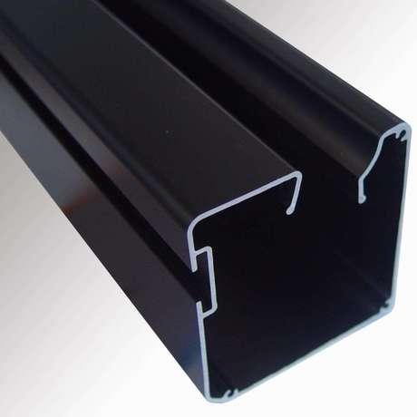 厂家定做散热器边框铝型材 铝合金型材定制 6063工业铝型材配件