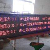 电厂LED看板 电厂生产数据看板 电厂排放监测LED