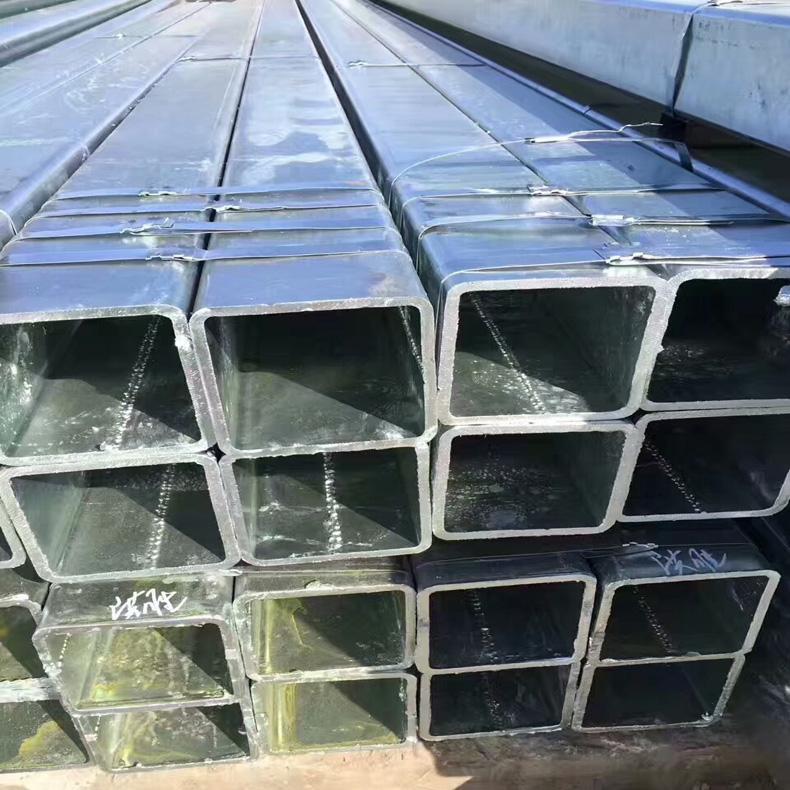 阳江镀锌方管厂家批发 报价 材质Q235B 规格100*100*9 价格合理
