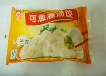 速冻饺子膜袋图片