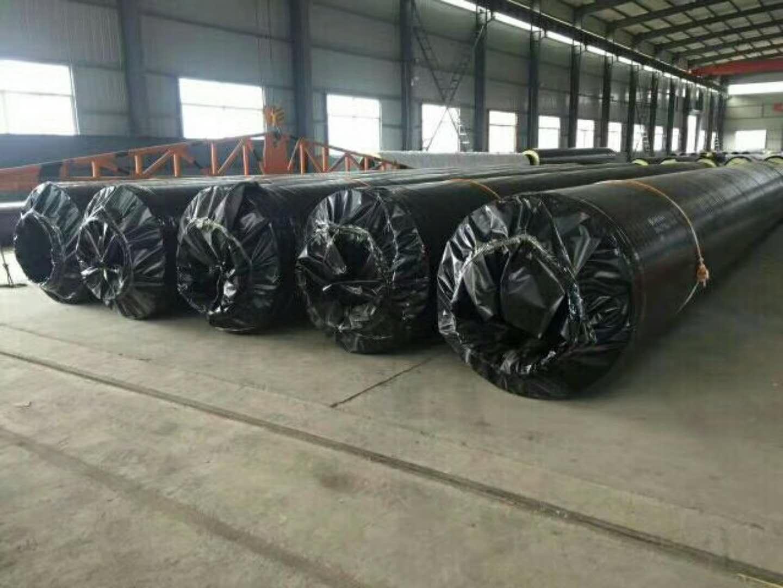 聚氨酯保温螺旋钢管标准/河北聚氨酯保温管厂家直销/预制直埋保温钢管