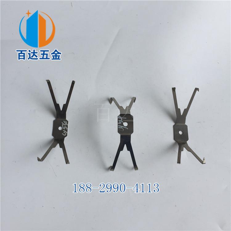 夹管铁片 不锈钢弹片 治具方管挂架铁杆 手机壳夹具挂具