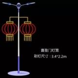 厂家批发供应灯杆装饰造型灯 厂家批发供应LED灯杆装饰造型灯 批发供应LED灯杆装饰灯笼造型灯