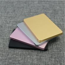 移动硬盘外壳    厂家直销新款铝合金喷砂固态硬盘电源外壳  优质耐用移动硬盘外壳批发