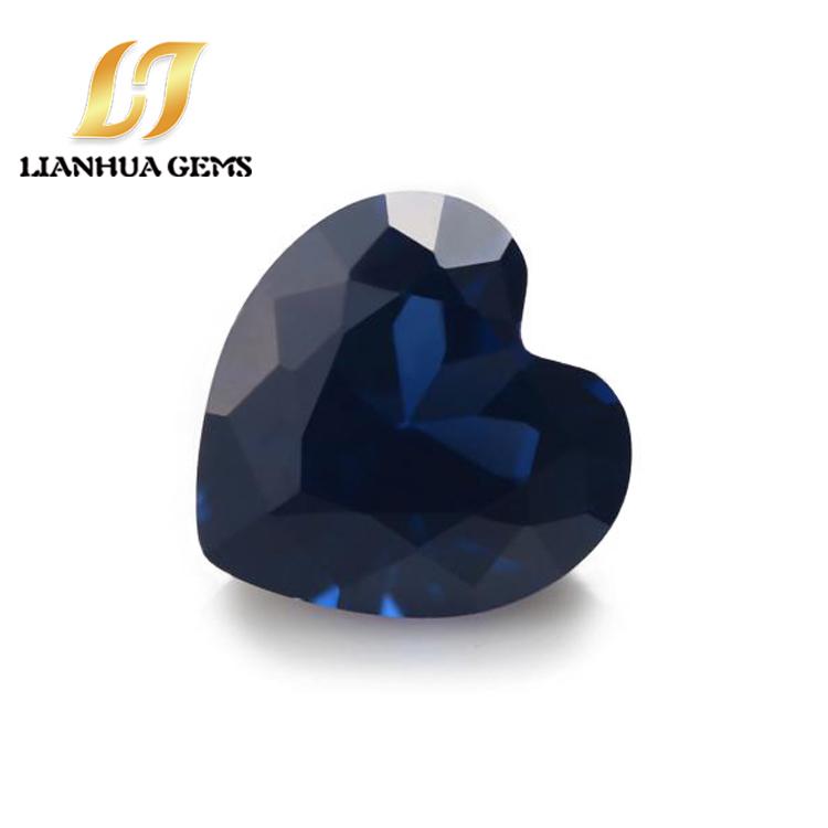 生产厂家直销纳米蓝刚心形直销合成批发纳米蓝刚心形各种颜色组合纳米