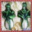 白菜招财陶瓷酒瓶 定制各种造型陶瓷酒瓶