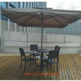塑木桌椅户外休闲桌椅