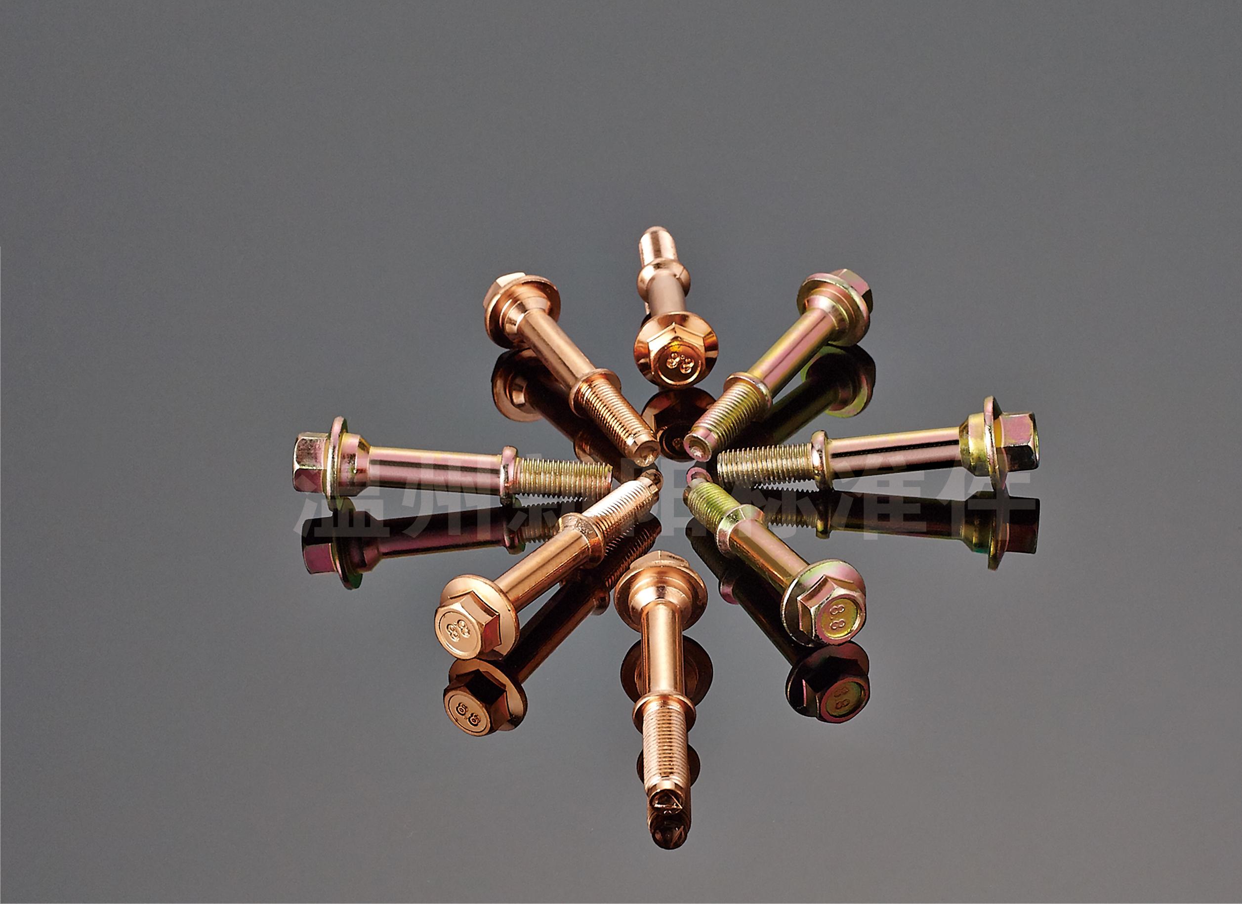 厂家供应碳钢排气管螺栓 高强度镀锌螺栓
