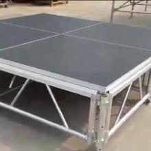 广州铝合金舞台搭建 铝合金舞台租赁 桁架背景搭建图片